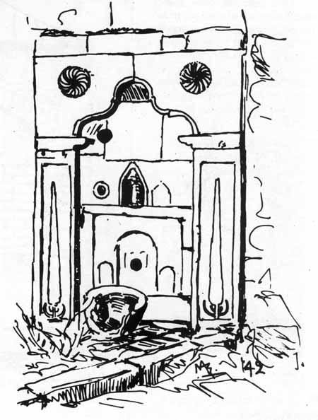 Το σχέδιο είναι από το βιβλίοΒρύσες της Λέσβου του Μάκη Αξιώτη.
